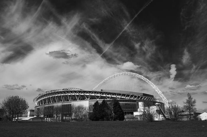 Photograph of Wembley Stadium 4