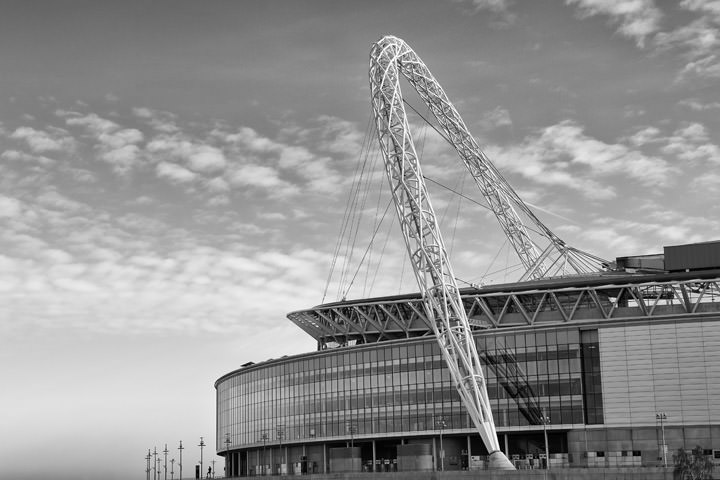 Photograph of Wembley Stadium 8