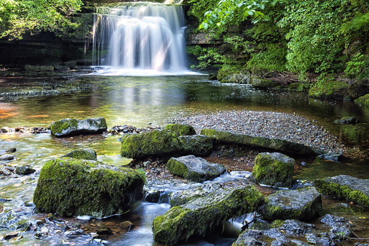 Photograph of West Burton Waterfalls 1