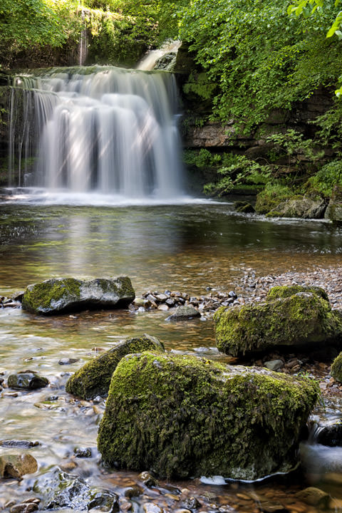 Photograph of West Burton Waterfalls 2
