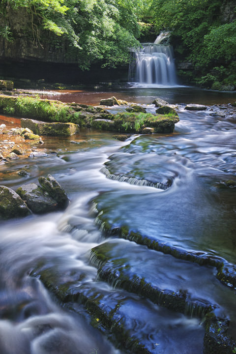 West Burton Waterfalls Yorkshire Dales - England