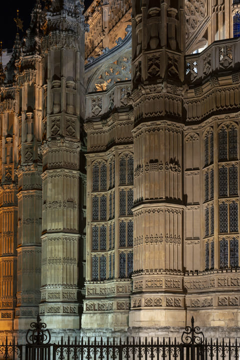 Photograph of Westminster Abbey Detail 12