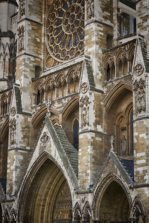 Photograph of Westminster Abbey Detail 13