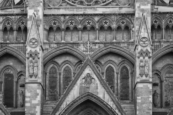 Photograph of Westminster Abbey Detail 14