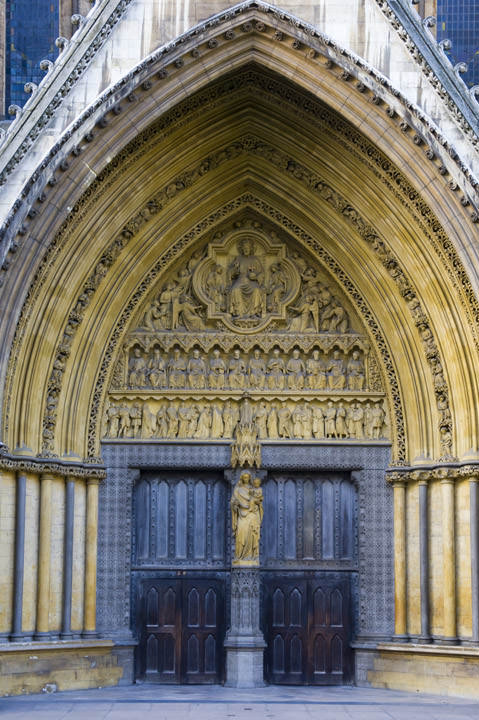 Photograph of Westminster Abbey Detail 2