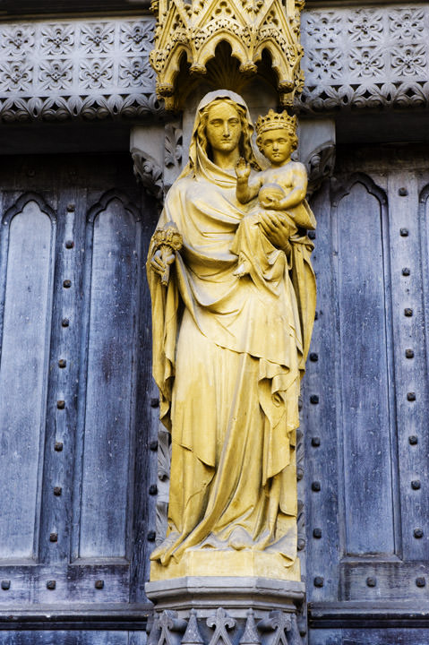Photograph of Westminster Abbey Detail 3