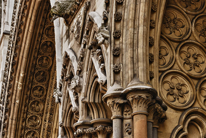 Photograph of Westminster Abbey Detail 6