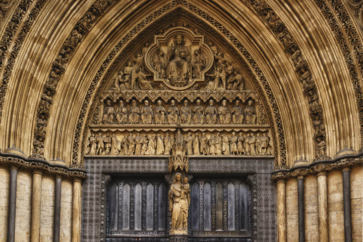 Photograph of Westminster Abbey Detail 7