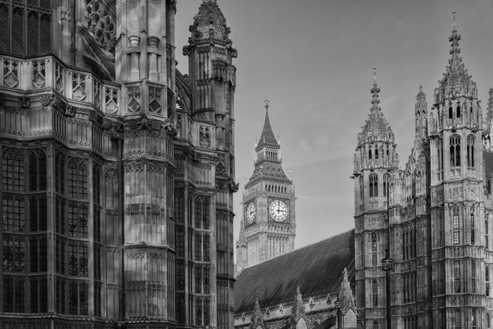 Westminster Abbey and Big Ben 1