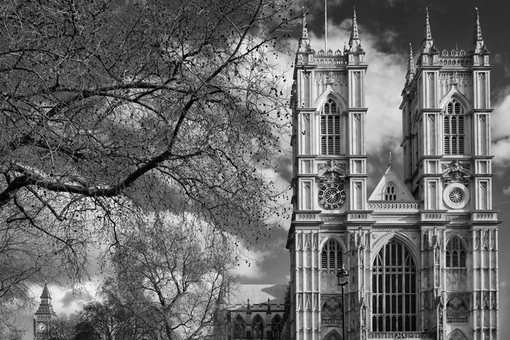 Photograph of Westminster Abbey and Big Ben 4