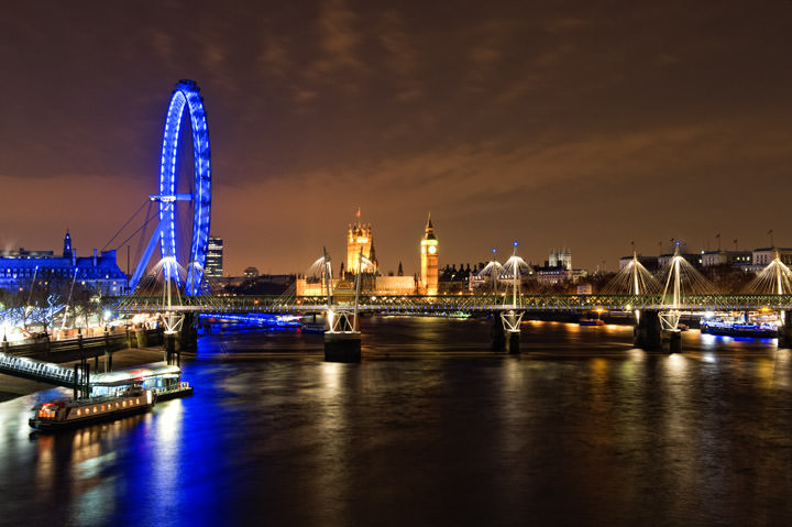 Photograph of Westminster Skyline at Night 3