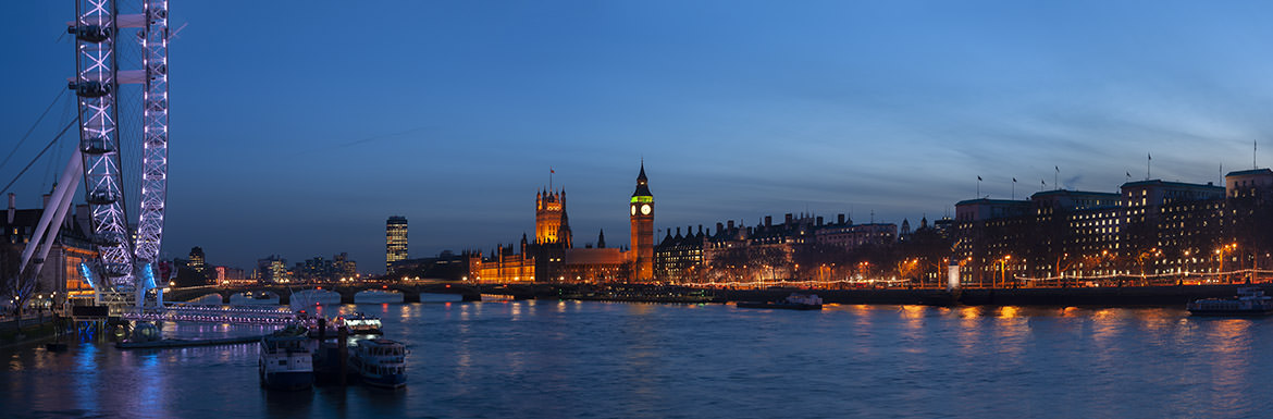 Photograph of Westminster by night 3