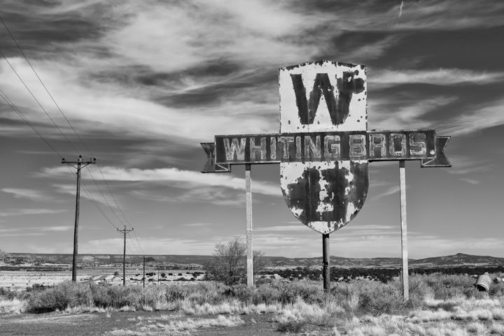 Whiting Brothers Sign 1 Thoreau - New Mexico
