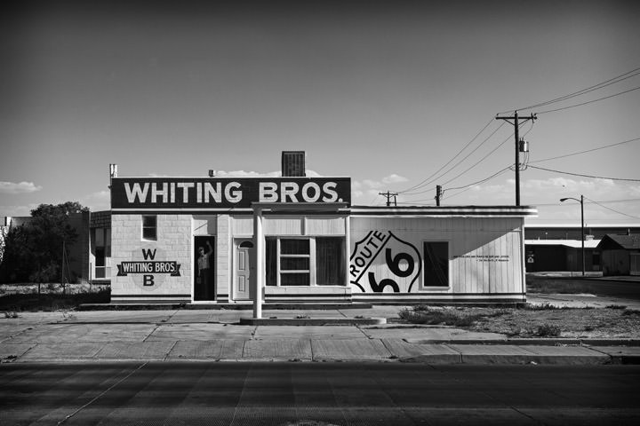 Whitings Gas Station -  Route 66 Tucumcari - New Mexico