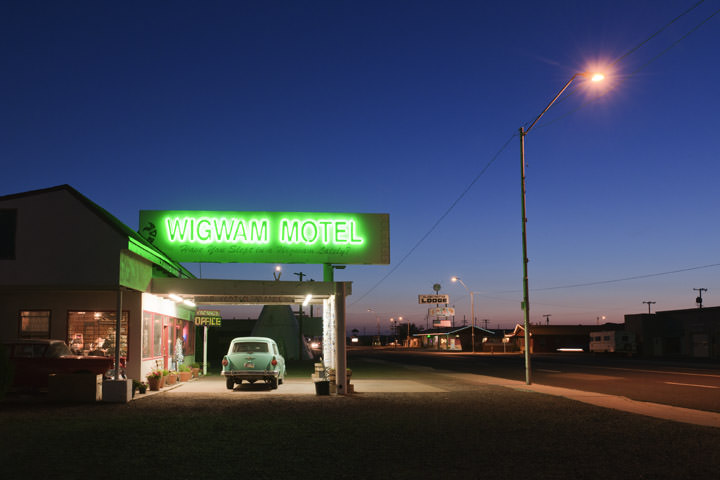 Photograph of Wigwam Motel - Route 66