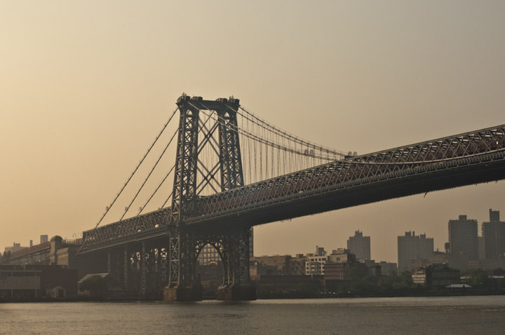 Photograph of Williamsburg Bridge