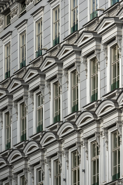 Photograph of Window Patterns Vienna 1