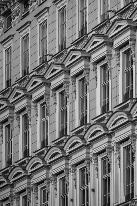 Photograph of Window Patterns Vienna 2