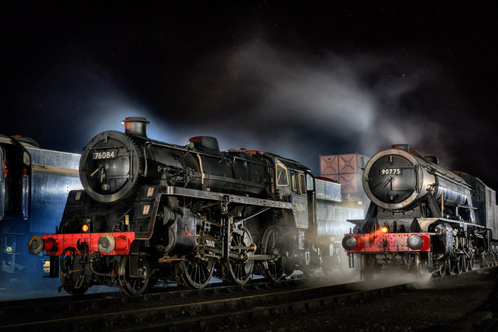 Photograph of Winter Steam 1