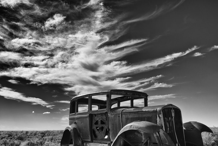 Wreck of the Painetd Desert 1 Holbrook - Arizona