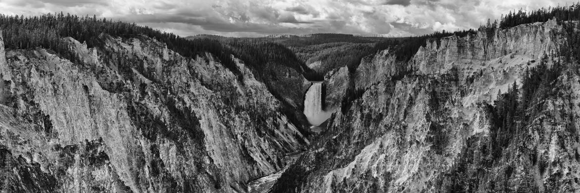Photograph of Yellowstone Falls 1