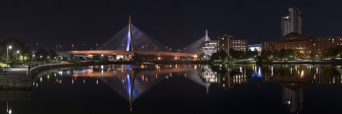 Photograph of Zakim Bridge 1 - Boston