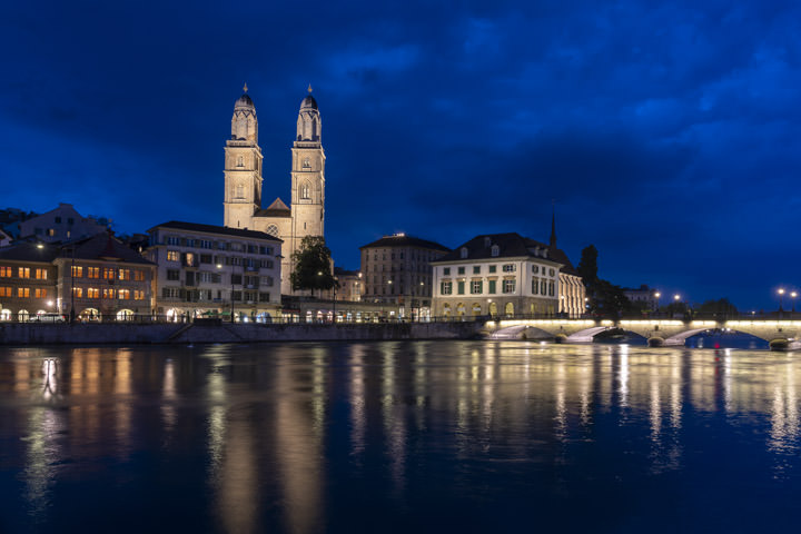 Photograph of Zurich Cityscape 1