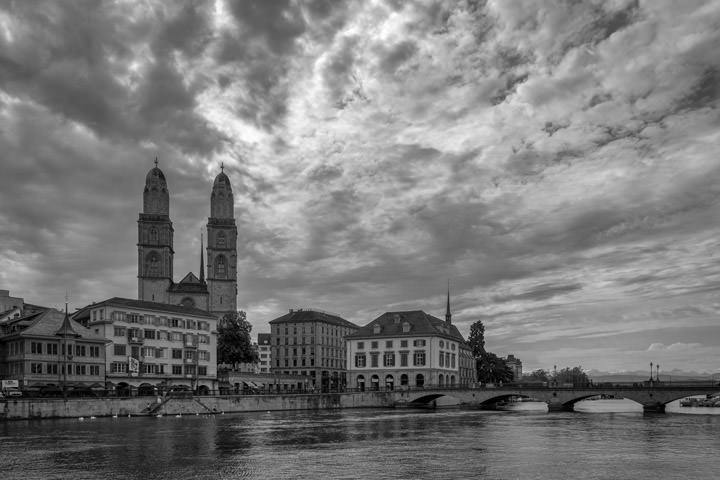 Photograph of Zurich Cityscape 2