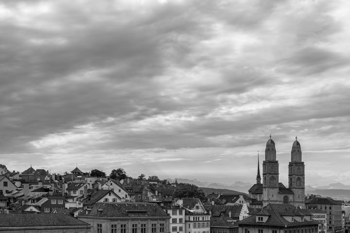 Photograph of Zurich Cityscape 3