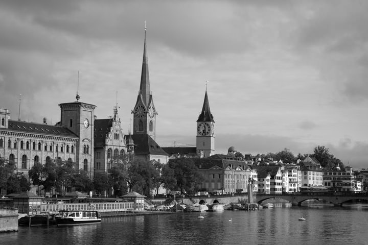Photograph of Zurich Cityscape 4