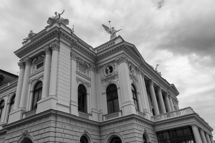 Photograph of Zurich Opera House 1